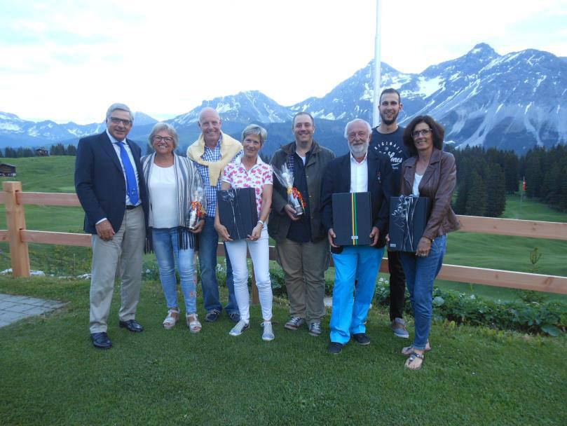 9 Loch Turnier Preis der Golf Arosa AG