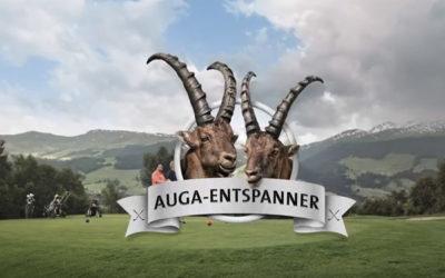 """Graubünden Golf – """"Dr Auga-Entspanner"""""""