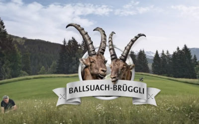 "Graubünden Golf – ""Ds Ballsuach-Brüggli"""
