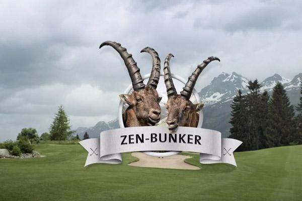 """Graubünden Golf – """"Dr Zen-Bunker"""""""