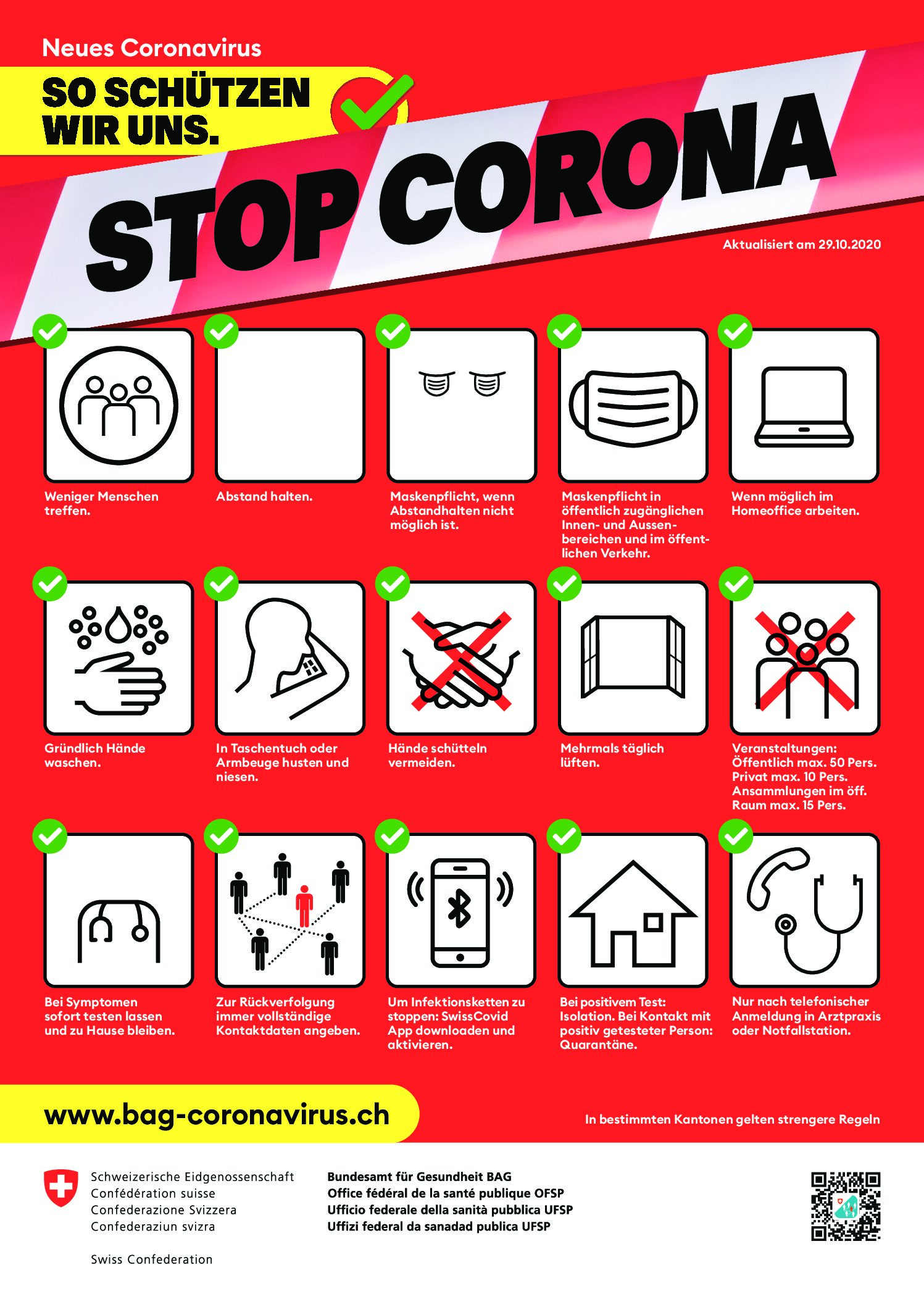 Plakat BAG (Stand 19. Juni 2020, PDF)